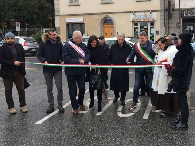 Splende la nuova piazza Santa Chiara grazie anche al contributo della Fondazione CRSM