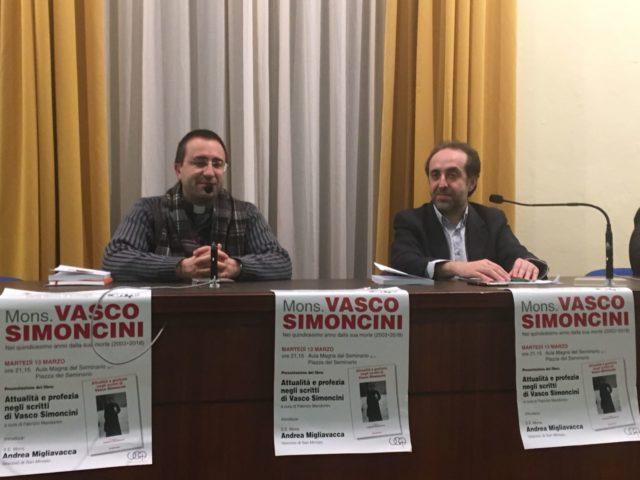 Il ricordo di Monsignor Vasco Simoncini a quindici anni dalla scomparsa