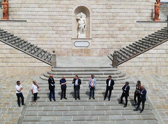 Restauro scalinata Santissimo Crocifisso