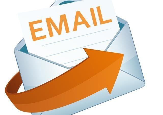 Nuova email per inviare le rendicontazioni